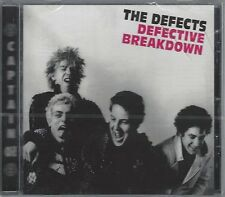 THE DEFECTS - DEFECTIVE BREAKDOWN - (still sealed cd) - AHOY CD 29