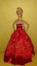 Prinzessin Ball Abend Braut Kleid für Barbie Steffi Mode Puppe Hochzeitskleid 36