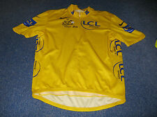 TOUR DE FRANCE 2007 NIKE YELLOW LEADERS CYCLING JERSEY [Large]. .