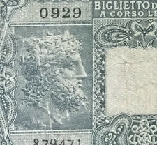 1944 Italy 10 Lire  banknote  very nice !
