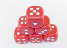 Red Dice Stress Relief Squeeze Toys ~ Set of 6 ~ For Arthritis, Stress, Therapy