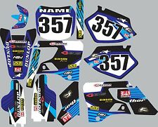 1996-2001 Yamaha wr yz125 yz250 yz 125 250 Graphics Decal fender shroud stickers