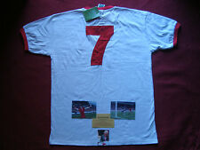 LIVERPOOL ENGLAND KEVIN KEEGAN SIGNED AWAY MATCH SHIRT LARGE - BNWT- EXACT PROOF