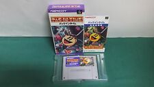 SNES -- PAC IN TIME -- Boxed. Nintendo Super famicom. Japan. work fully! 14744