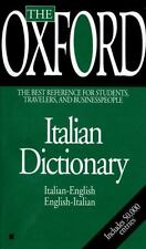 The Oxford Italian Dictionary Oxford University Press Mass Market Paperback
