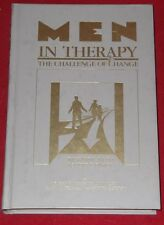 MEN IN THERAPY ~ challenge of change ~ Richard Meth & Robert Pasick ~ HARDCOVER