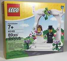 New Sealed LEGO 40165 Wedding Favor Set Bride Groom Cake Topper