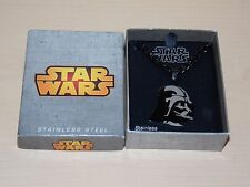 Disney Parks Star Wars Darth Vador Stainless Steel Necklace New In Box