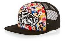 Vans Off The Wall Women Disney Princesses Snow White Cinderella Trucker Hat Cap