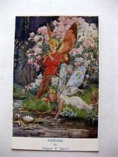 Amazing Fairy People Postard Fantasia by Margaret W Tarrant