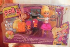 Polly Pocket - Stick & Play - Games Room - MATTEL