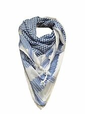 Hirbawi Blue Ocean Arabic Scarf Made In Palestine Authentic Shemagh Keffiyeh