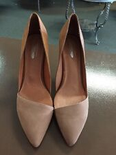 Jeffrey Campbell Free People Meridian Tan Heels Size 10 New