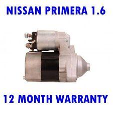 NISSAN PRIMERA 1.6 16V 1996 1997 1998 1999 2000 2001 2002 RMFD STARTER MOTOR