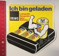 Aufkleber/Sticker: FRIWO - Ich Bin Geladen - Ladegeräte-NiCd Batterien(13031618)