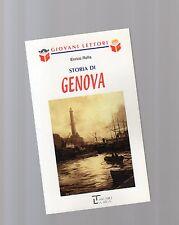 """storia di genova  -serie giovani lettori - La spiga"""" - libri nuovi"""