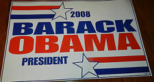 BARACK OBAMA FOR PRESIDENT THE STAR OF 2008 Campaign Sign Rally Poster