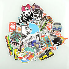 50 Pieces Stickers Skateboard Graffiti Laptop Luggage Bicycle Decals mix Cool