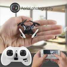 RC101w 2.4GHz Mini Nano RC Drone with Wi-Fi FPV Camera 360 Degree Flips RTF
