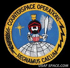 USAF COUNTERSPACE OPERATIONS MARVIN THE MARTIAN DOD ORIGINAL SPACE PATCH