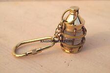 Brass Antique lantern ~ Nautical Maritime ~Key-ring lantern