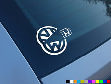 Vw comer Honda Pacman Golf 1.8 t Gti Tdi coche divertido Sticker Decal Vag Dub R32 20vt