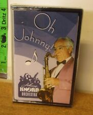 JOHNNY KNORR Oh Johnny cassette tape Toledo '90s sax Ohio orchestra Stardust NWT