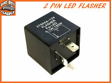 2 Pin Fully Electronic LED Flasher / Hazard Relay For CLASSIC CARS