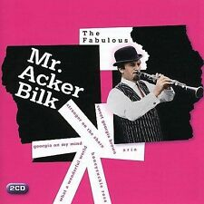 "ACKER BILK ""The Fabulous Mr. Acker Bilk by Acker Bilk"" 2 CD collection"