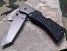 Ka Bar Mule Tactical Heavy Duty Tanto 420 Blade Black G10 Handle KA3064