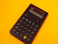 DATAMATH CALCULATOR MUSEUM - Braun ETS 77 - SOLAR POWERED