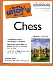 THE COMPLETE IDIOT'S GUIDE TO CHESS PATRICK WOLFF PENGUIN SCACCHI (E418)