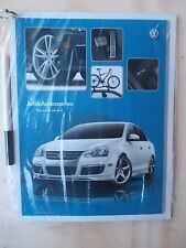 2006 VW Beetle JETTA Passat GTI Rabbit TOUAREG ACCESSORIES Laminated Pages