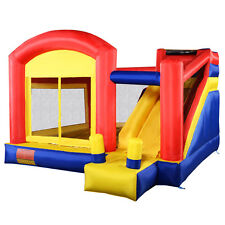Goplus Super Slide Inflatable Bounce House Castle Moonwalk Jumper Bouncer New
