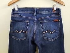 7 For All Mankind Bootcut Denim Blue Jeans Women's Size 28 U075202S-202S