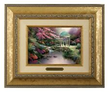 Thomas Kinkade Pools of Serenity - Brushwork (Gold Frame)