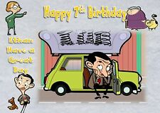 personalised birthday card mr bean daughter son grandson birthday card