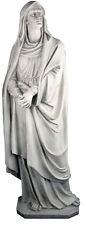 """Our Lady of Sorrow Christian sculpture statue 65"""" for home or garden"""