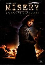 NEW DVD // STEPHEN KING -MISERY - COLLECTOR'S EDITION // Kathy Bates, James Caan