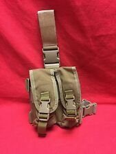 Tactical Assault Gear Drop Leg Quad .223/5.56 mag Pouch Coyote Brown Free Ship