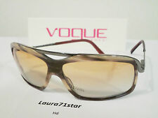 VOGUE 2290 Striped Brown / Marrone Striato occhiali da sole Sunglasses Original