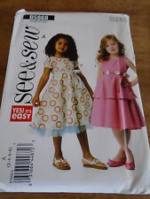 "PATRON ""BUTTERICK ROBE CHIC CEREMONIE   T 3 A 6 ANS   N°5868  ()"