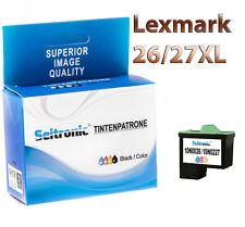 1x Drucker Patrone Seitronic für Lexmark 26/27 XL Farbig Z602 Z603 Z604 Z605