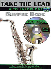 Take The Lead BUMPER BOOK Alto Sax Saxophone Music & CD CARELESS WHISPER POP