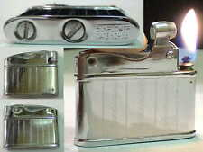 Briquet Ancien - Sunflower Chrome - Vintage gas Lighter Feuerzeug Accendino