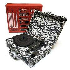 "J Dilla Turntable And The Sickness ft Nas 7"" 45 Vinyl Boxset RARE!!!!"