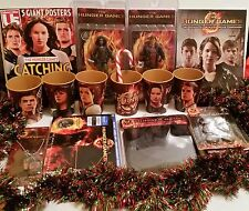 The Hunger Games Super Gift Lot Of 19 Collectibles Including A Blu-Ray Giftset