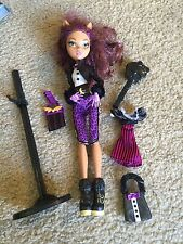 Nice Monster High Clawdeen Wolf Sweet 1600 doll Awesome!!
