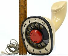 Vintage ERICOFON TELEPHONE Phone NORTH ELECTRIC Desk/Counter-Top BEIGE/TAN c1950
