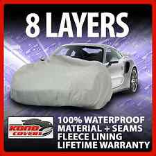 8 Layer Car Cover Indoor Outdoor Waterproof Breathable Layers Fleece Lining 6843